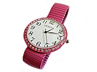 Pink Fancy Plus Size Watch 8, 9 Inch